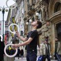 Žonglování s Filipem Štanclem